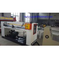 Quality 3 4 5 Ply Hard Cardboard Production Line Rotary Cut Off Helical Knife Cut To Sheet for sale