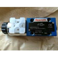 Quality Rexroth Directional spool valves, direct operated with solenoid actuation 4WE6D62/EG24N9K4 for sale
