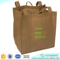 Quality Factory price for colorful PP spunbond nonwoven fabric,100%polypropylene,for making shopping bags D-CUT bag raw material for sale