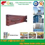 Provea de gas las paredes industriales del agua de la caldera de la estación del poder 300MW del vapor para la caldera de condensación