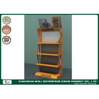 Quality Shops Retail Display Racks Four Layers Metal Designed Customized Color for sale