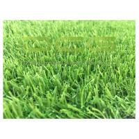 Buy UV Resistant Outdoor Grass Carpet / Fitting Artificial Grass Free Heavy Metal at wholesale prices