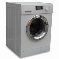 Buy cheap 9kg Fully Automatic Front Loading Washing Machine with LCD Display and 1000rpm from wholesalers