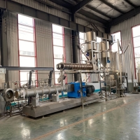 Quality Dry Extruded 800Kg/hr  Pet Food Processing Equipment for sale