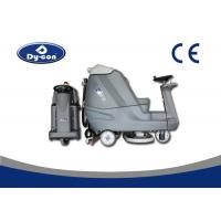 Buy Blue Color Reconditioned Ride On Floor Scrubbers Machine , Wet Floor Cleaning Machines at wholesale prices
