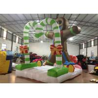 China Commercial Activities Inflatable Christmas Decorations Cookie 4 X 2.8 X 4.5m on sale
