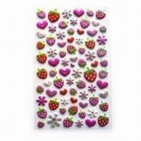 Quality Double-foam Stickers, Suitable for Decorating Telephone, Toys, Books or Children's Products for sale