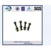 China Galvanized Special Railway Sleeper Bolts And Nuts Track Bolts Fish Bolts on sale