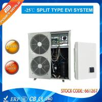 Quality COP 4.0 Air To Water Heating System -25 C Cold Sanitary Greenhouse Heat Pump Auto Defrost for sale