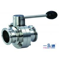 Quality Water Oil Gas Double Flange Butterfly Valve Material Of Stainless Steel for sale