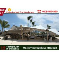 Quality Portable Mobile Garage Tent Waterproof , Sun Shade Canopy Tent Transparent for sale