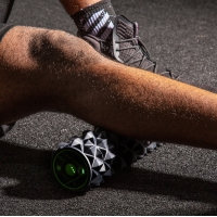 Quality EVA 840g Heated Vibrating Foam Roller For Preventing Muscle Injuries for sale