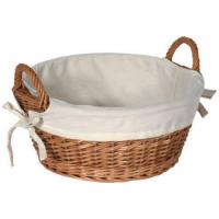 China 1pc Brown Oval Wicker Tray With Handle, High Quality Wicker Tray,Willow Tray,Fruit Wicker Tray on sale