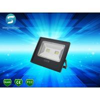 China High Lumen Industrial Outdoor LED Flood Lights , Slim 100W Warm White LED Flood Light IP65 wholesale