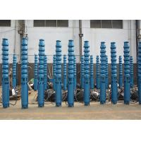 China Electric Borehole Submersible Underwater Pumps 10 - 600m Head 2.2 - 410kw Power on sale