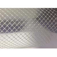 Quality Plastic PP Filter Mesh Extruded Plastic Flat Net 2mm 3mm Diamond Pore Size for sale