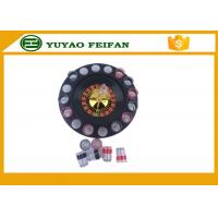 "China 32"" Casino Mini Lucky Roulette Wheel Poker Chips Sets With 16pcs Cups wholesale"