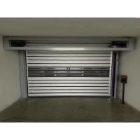 Quality Powder Coated Industrial Roll Up Door 220mm Aluminum Slats Extension Springs for sale