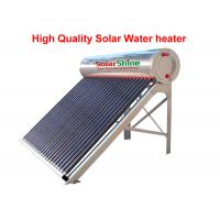 Quality Three Target All Glass Tube Solar Water Heater 58 X 1800 Mm Anti Corrosive for sale