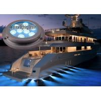 Quality 27 W Blue Underwater Boat Lights / Remote Control Marine Spotlight for sale