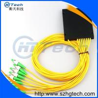 Quality ABS Box 1x8 Fiber Optic Splitter With FC/APC Connector for sale