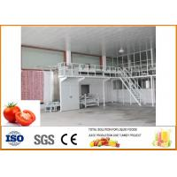 China Tomato Canned Rice Production Line 15-20 Cans / Minute Cans CFM-B-06-6000 on sale