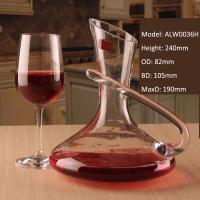 Quality Alymayca Creative Beverage Liquor Alcoholic Drink Carafe Crystal Red Wine Decanter for sale