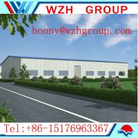Buy Prime construction design steel structure warehouse/ workshop at wholesale prices