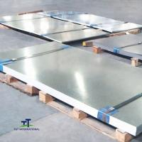 China DX51d Z275 Cold Galvanized Steel Sheet 5mm Environmental Protection on sale