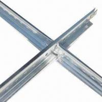 Quality Suspended Ceiling Grid, Can Hold Exceptionally Tight Tolerances and Sharp Contours for sale