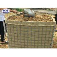 Quality MIL 11 Hesco Barrier Wall Morden Assembled Security SASO Certification for sale