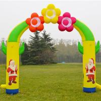 Quality Customized Outdoor Christmas Decoration Inflatable Party Arch for sale