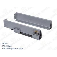 China Kitchen Drawer Slide With Soft Closing Drawer Runner slide for cabinet KRS02 on sale