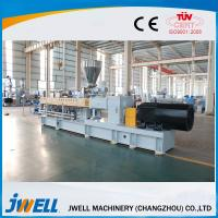Quality Jwell Twin Screw Pelletizer Good Flexibility Sainless Stell Body Material Anti Rust for sale