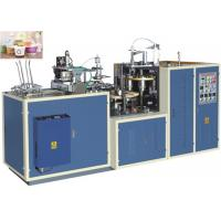 Quality High Efficiency Paper Bowl Making Machine Customized Speed 25 - 35 Cups Per Min for sale