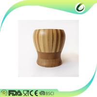 China Bamboo Wooden Pestle Mortar , Wooden Garlic Crusher Herb & Spice Tools on sale