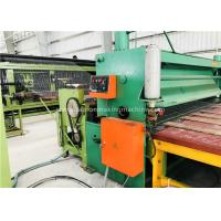 Quality Green Gabion Wire Mesh Machine 2300mm Max. Netting Width For Slope Revetment for sale