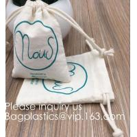 Quality Drawstring Bags Reusable Muslin Cloth Gift Candy Favor Bag Jewelry Pouches for Wedding DIY Craft Soaps Herbs Tea Spice B for sale