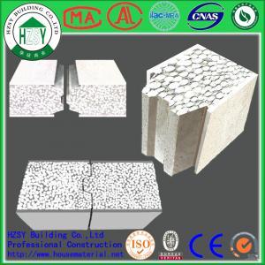 Quality HZSY 100mm Building Precast Concrete Wall Panels , Internal External precast wall panels for sale