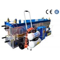 Buy cheap Aluminum Alloy Conveyor Belt Vulcanizing Equipment With Upper and Lower Frame from wholesalers