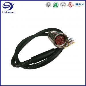 Quality Construction machinery Wire Harness with 623 Copper Alloy M23 Connector for sale