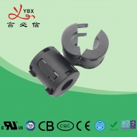 Quality Yanbixin Black Color Low Frequency Ferrite Core For Power Supply System Suppression for sale