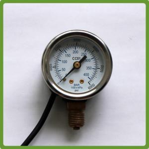 China autogas cng 5V pressure gauge on sale