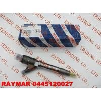 China BOSCH Common rail injector 0445120027 for ISUZU 8973036573, 8-97303657-3, GMC 97303657, on sale