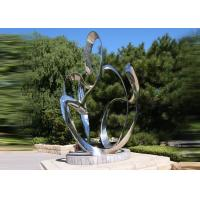 Custom Size Stainless Steel Sculpture For City Decoration OEM / ODM Acceptable