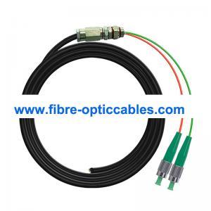 Quality LSHZ Waterproof FC APC Optical Fiber Pigtail Cable SM OS2 2 Core for sale