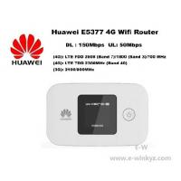 Quality Original Unlock LTE FDD 150Mbps HUAWEI E5377 4G wireless Router With Sim Card Slot for sale
