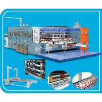 Quality 1 ~ 5 Colors Printing Die Cutting Machine For Cardboard / Flexo Printer Slotter Machine for sale