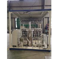 Quality 1.6MPa Submersible LNG Pump Skid Cryogenic Gas Processing Plant for sale