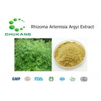 Quality TLC Tested Powdered Herbal Extracts Artemisia Argyi Extract With Hemostatic Effect for sale